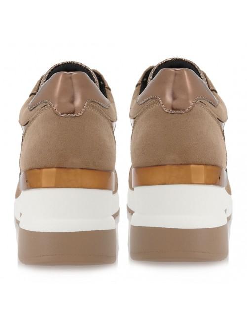 Γυναικεία sneakers RENATO GARINI πούρο καστόρι ΕΧ9936